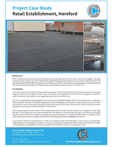 Hereford roofing Case Study
