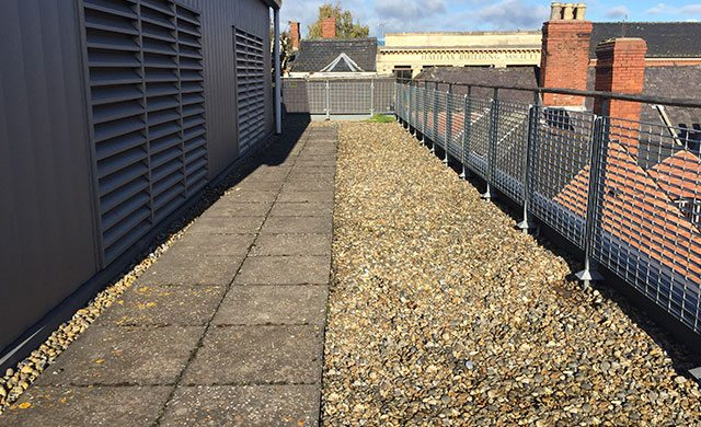 Hereford flat roof