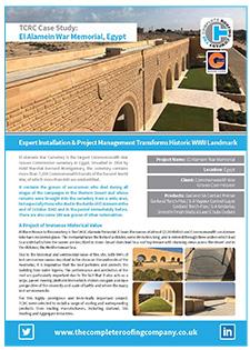 El Alamein roofing case study