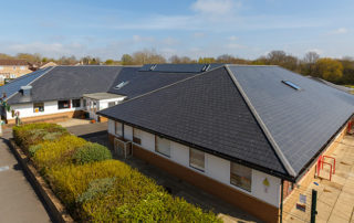 Westlea Primary School pitched roof solution