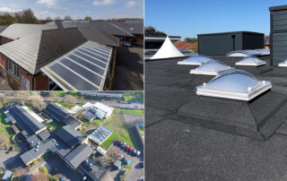TCRC school roofing projects