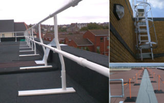 TCRC roof safety systems
